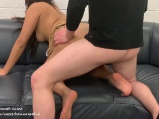 Asian girl fucks hard and moans hard