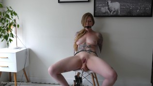 Bound Orgasm Torture – Tied Up, Ballgagged, And Squirting!