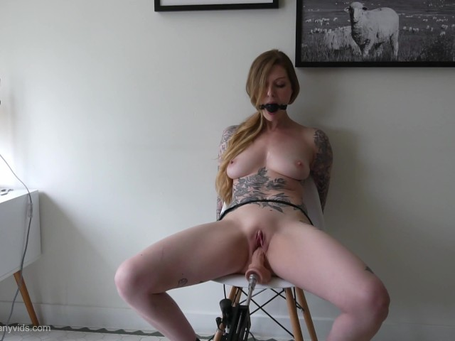Tied Up Squirting Orgasm