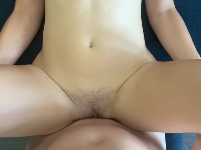 Skinny Hairy Pussy Creampie