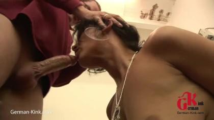 Love watching my husband suck himself