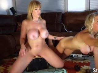 Sara Jay And Vicky Vette Lesbian HD