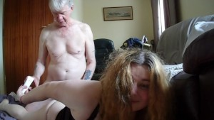 Old StepDaddy Abuses Young Trans Girl Part 2