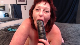 V282 Ass licking, reverse cowgirl dildo and gentle race play