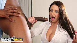 BANGBROS - BBC Anal For Busty Pornstar Angela White