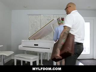 MYLFDOM – Big Cock Stepson Pounds His Ginger Stepmom