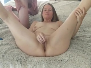 Toe Curling Orgasms while I Lick his Naughty parts and Toy mine