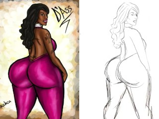 Thick Ass Cherokee D Ass illustration