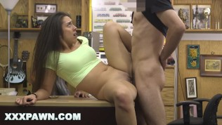 XXXPAWN - Petite Latin Hottie Gives Up The Pussy At A Pawn Shop