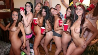 COLLEGE RULES - Young Teenage Whores Suck Dicks With Reckless Abandon