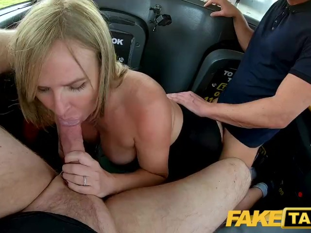 Fake Taxi Greedy Beautiful Blonde Milf Summer Rose Has Two Cocks in the Cab
