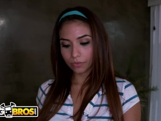 BANGBROS - Latin Housekeeper Isabella Taylor Gets Paid For Sex