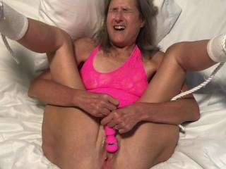 Hot MILF Closeup Masturbation Multiple Orgasms Mature 60 Year Old