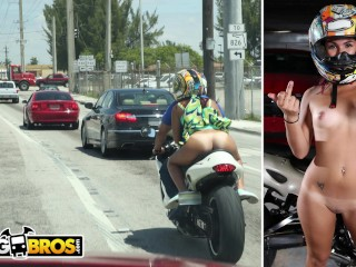 BANGBROS – Certified Badass Sophia Steele Has A Need For Speed, And Dick