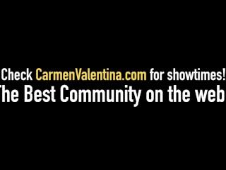 Lesbian Babes Carmen Valentina & Chrissy Daniels Face Sit, Eat Pussy & Cum!