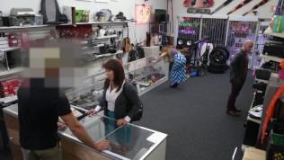 XXXPAWN - Pawn Shop Owner Takes Advantage Of Curvy & Desperate Latin MILF