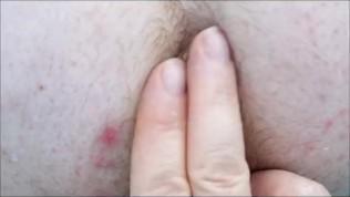Multiorgasmic BBW Anal Prolapse Play- Eating anal prolapse