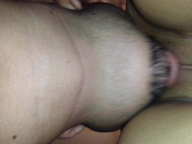 Wife Fucking Hubbys Ass Dildo