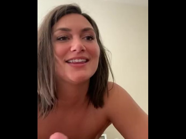 British Dirty Talking Blowjob