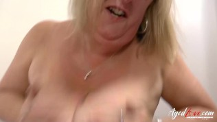AgedLovE Busty Lady Hardcore Bouncing