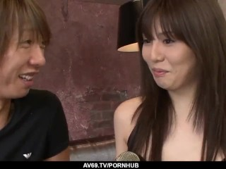 supreme japanese passion on big cock by karen natsuhar - more at 69avs com