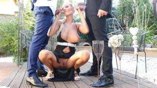 Glamkore - Busty Blonde Takes...