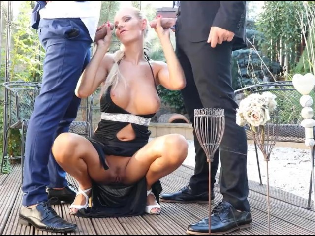 Glamkore - Busty Blonde Takes Cock in Ass and Pussy