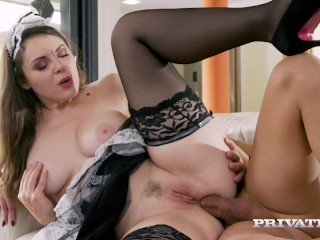Privatecom Presents - Hot Curvy Maid Sofia Curly Gets Her Big Ass Fucked