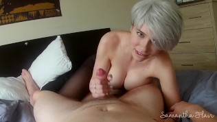 Pantyhose ripped & dicked - POV - Samantha Flair
