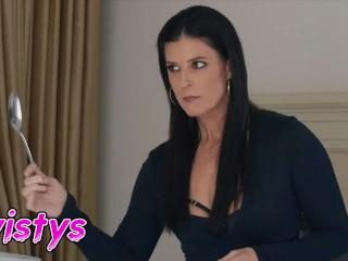 twistys - Milf India Summer takes advantage of lesbian maid Emily Willis