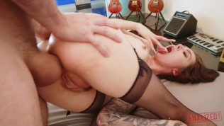 marley brinx`s asshole nailed harder than ever before - massive gapes!