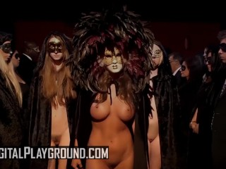 Digital Playground - big tit brunette Abigail Mac's first Boy girl scene