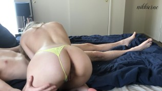 Tinder Girlfriend Can't Handle Big Cock – NikkieRae