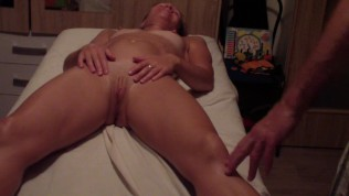 sensual and sexual massage of young russian girl