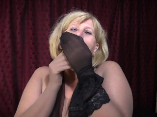Tights/milf/pantyhose for nylon me encasement