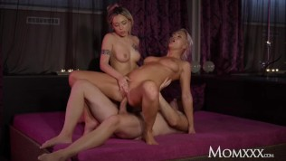 MOM Kathy Anderson spa threesome with husband and gorgeous Jennifer Amilton