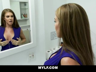 MYLF - Seductive Milf Lures Her Stepson Into Having Sex