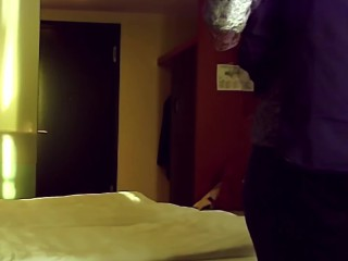 Intensive Hotel Date with young, wet chubby Milf
