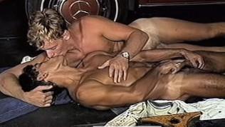 Scott Avery & Eric Martinez in HOT MALE MECHANICS (1985)