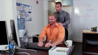GRABASS - 9 To 5 Is So Much More Fun With Gay Office Shenanigans
