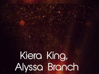 Hot Lesbians Kiera King, Alyssa Branch & Zoey Foxx Do All Girl Dildo Fuck!