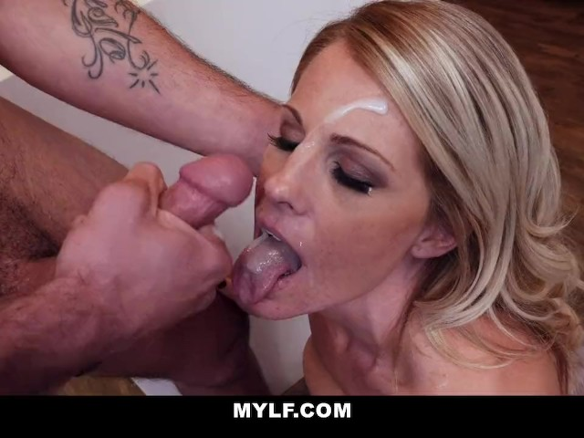 Mylf - Hot Blonde Milf Gets Fucked Hard And Rough By -5381