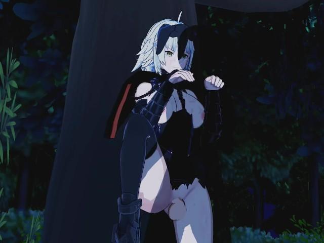 Fate/Grand Order - Jeanne d%27Arc (Alter) 3D Hentai