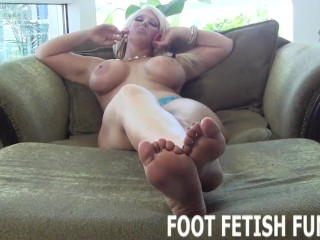 Femdom Foot Fetish Porn And POV Feet Worshiping Videos