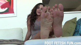 Femdom Foot Fetish Porn And POV Feet Worshiping Videos