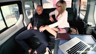 VIPSEXVAULT - Slutty Czech MILF Drilled Hard In the Uber