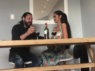 Sunday lunch with Asian Tinder date turns into amazing sex! Must see!