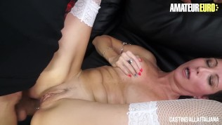 AmateurEuro - Rough Anal SEX at Porn Casting For Kinky Italian Mom