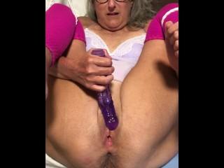 Hot Milf Close Up Dildo Play Asshole Nice And Spread Granny Milf Mature