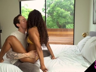 Passionate and Orgasmic Amateur Sex Tape with Demi Sutra